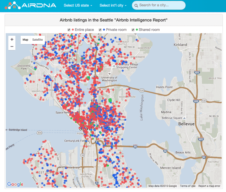 AirBnB-Density-Seattle