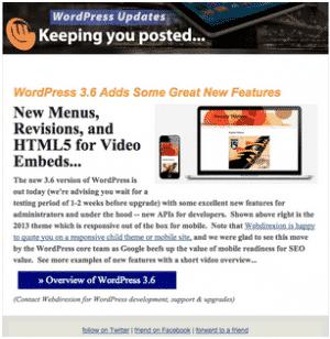 Webdirexion MailChimp A/B Test