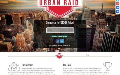Urban Raid Pro One Page Site