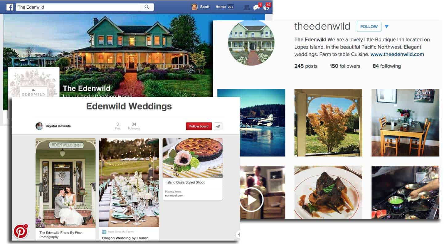 Edenwild Inn social strategies
