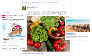 Facebook ads can take on many appearances depending on the ad type and the device used to view the ad.
