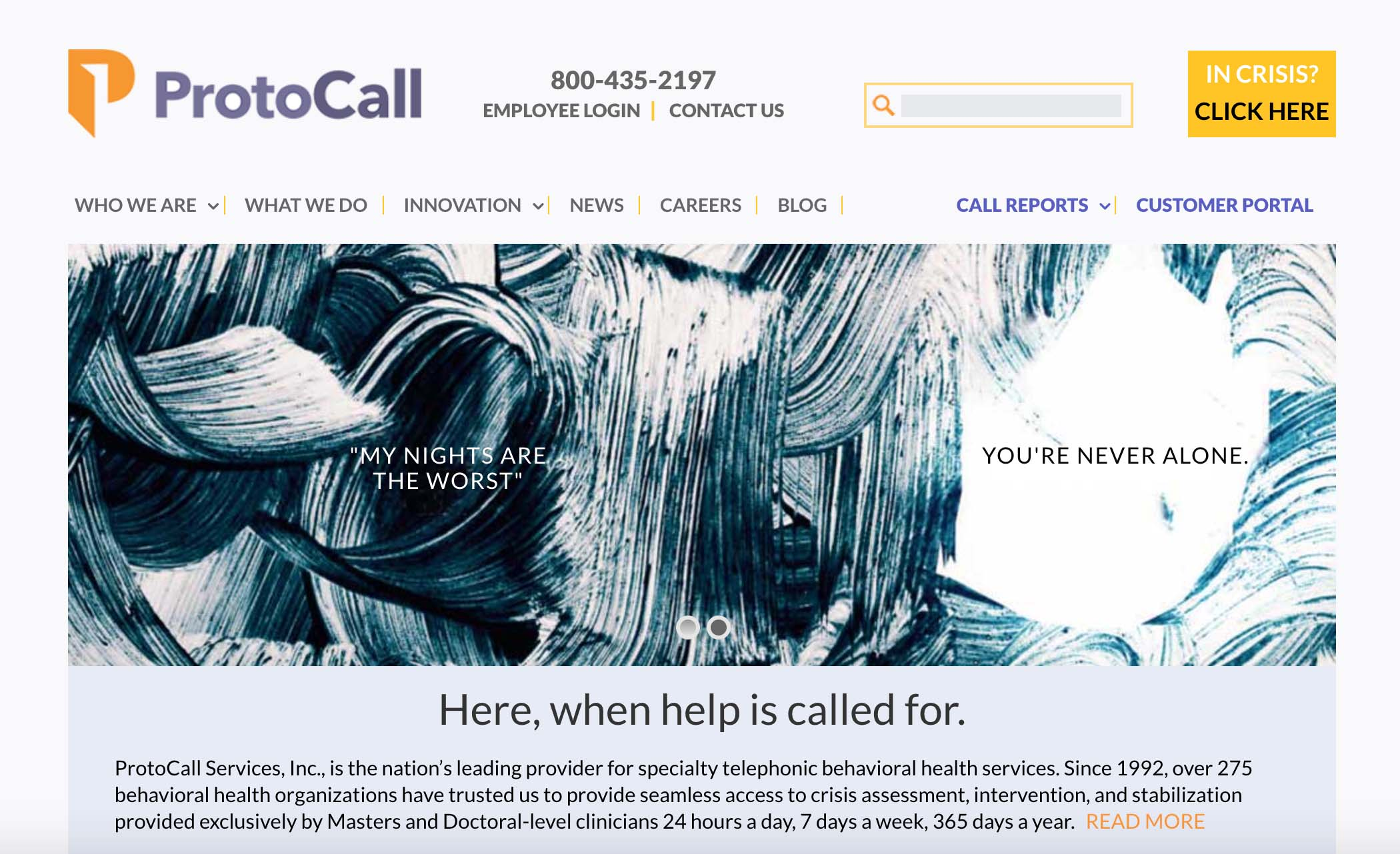 ProtoCall Services, Webdirexion Client, ProtoCall Services Pro Website
