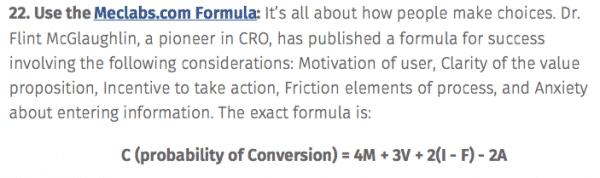 Meclabs CRO Formula