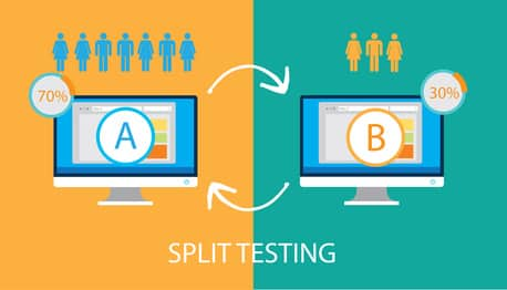 A/B Test Split Testing for Conversion Rate Optimization Services