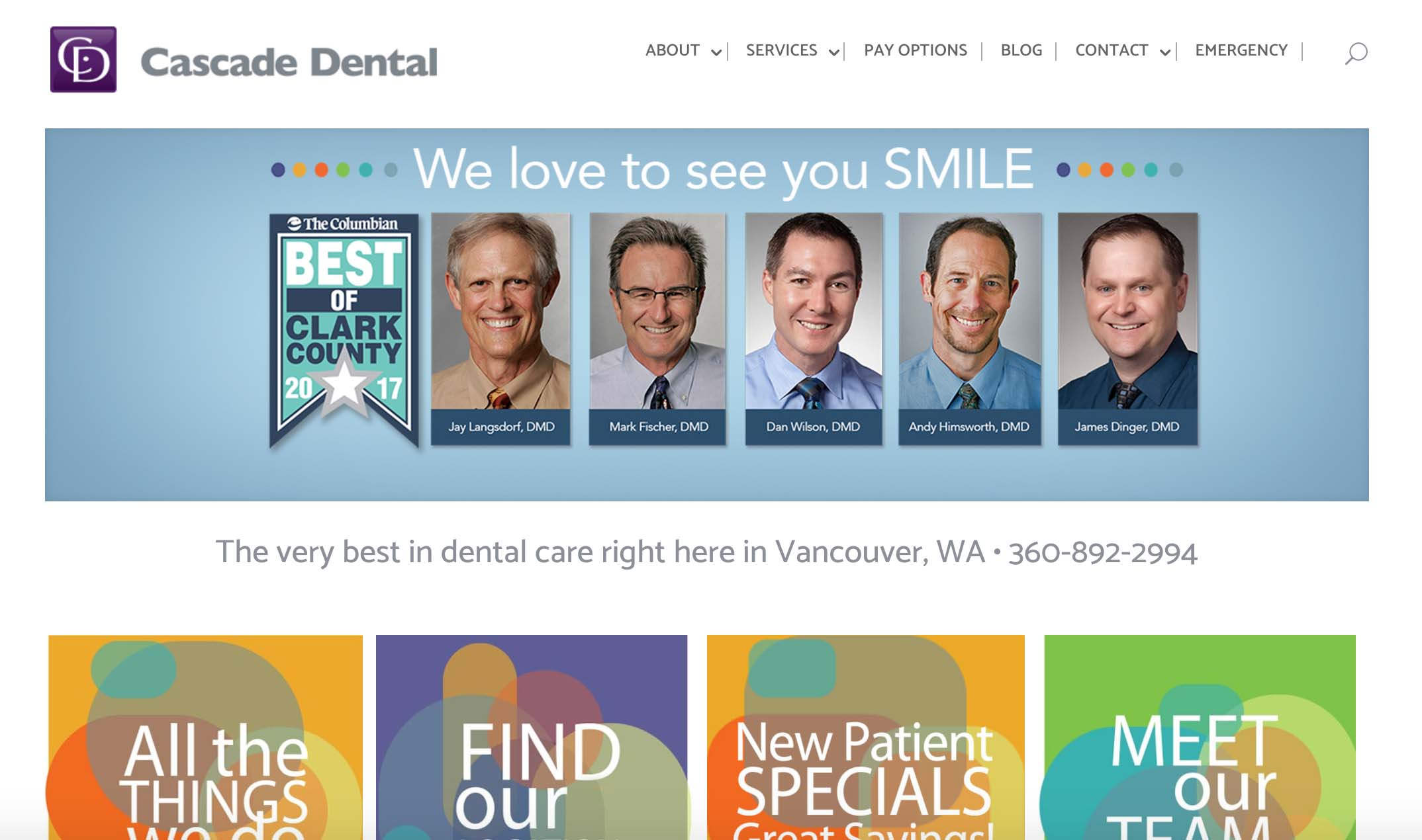 Cascade Dental Pro Website & Digital Marketing