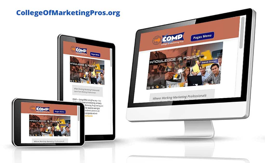 College of Marketing Pros Pro Website & Digital Marketing