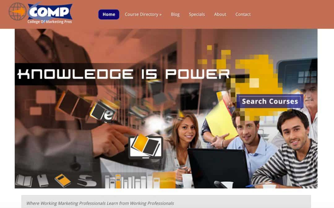 College of Marketing Pros – Pro Website & Digital Marketing
