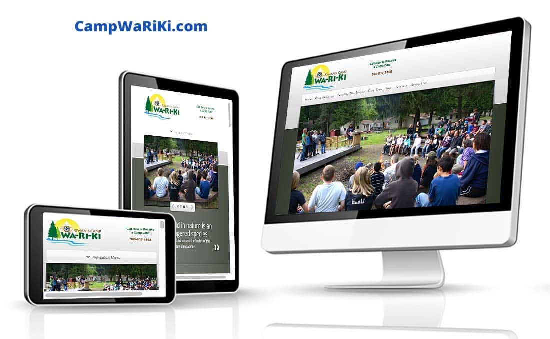 Camp Wa-Ri-Ki Pro Website and Digital Marketing