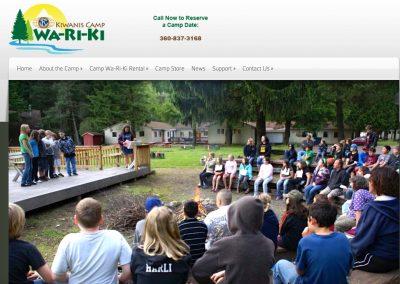 Camp Wa-Ri-Ki Professional Website and Digital Marketing