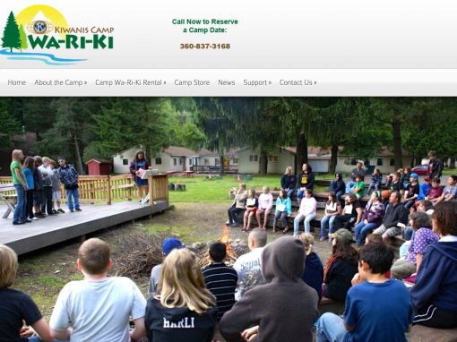 Camp Wa-Ri-Ki Professional Website and Digital Marketing