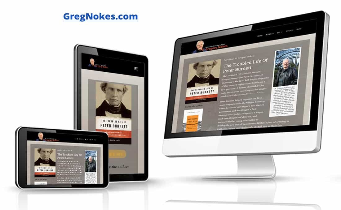 Webdirexion Built This Site for a noted book author