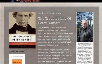 Greg Nokes Books Divi Website