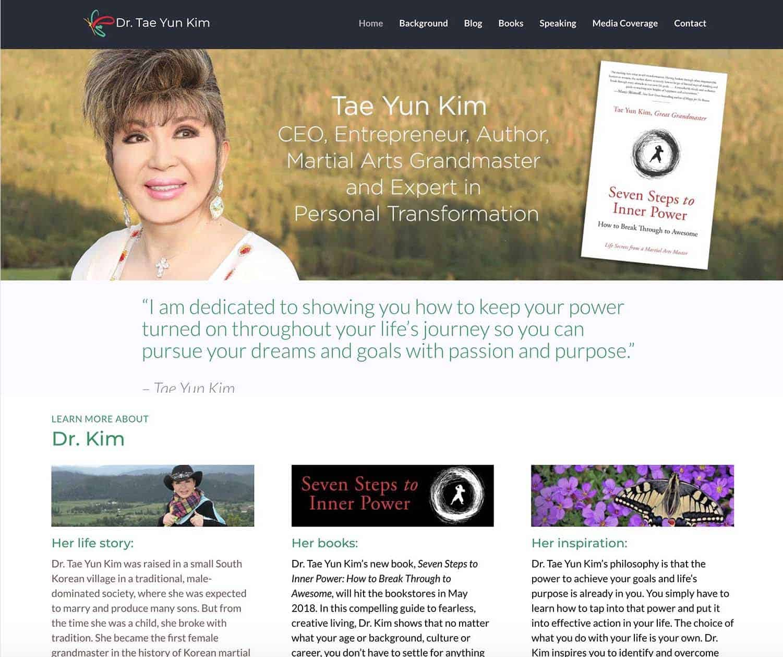 Tae Yun Kim Pro Website
