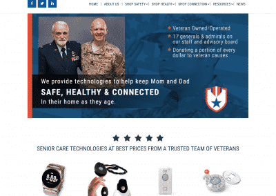BlueStar HonorCare Pro Website