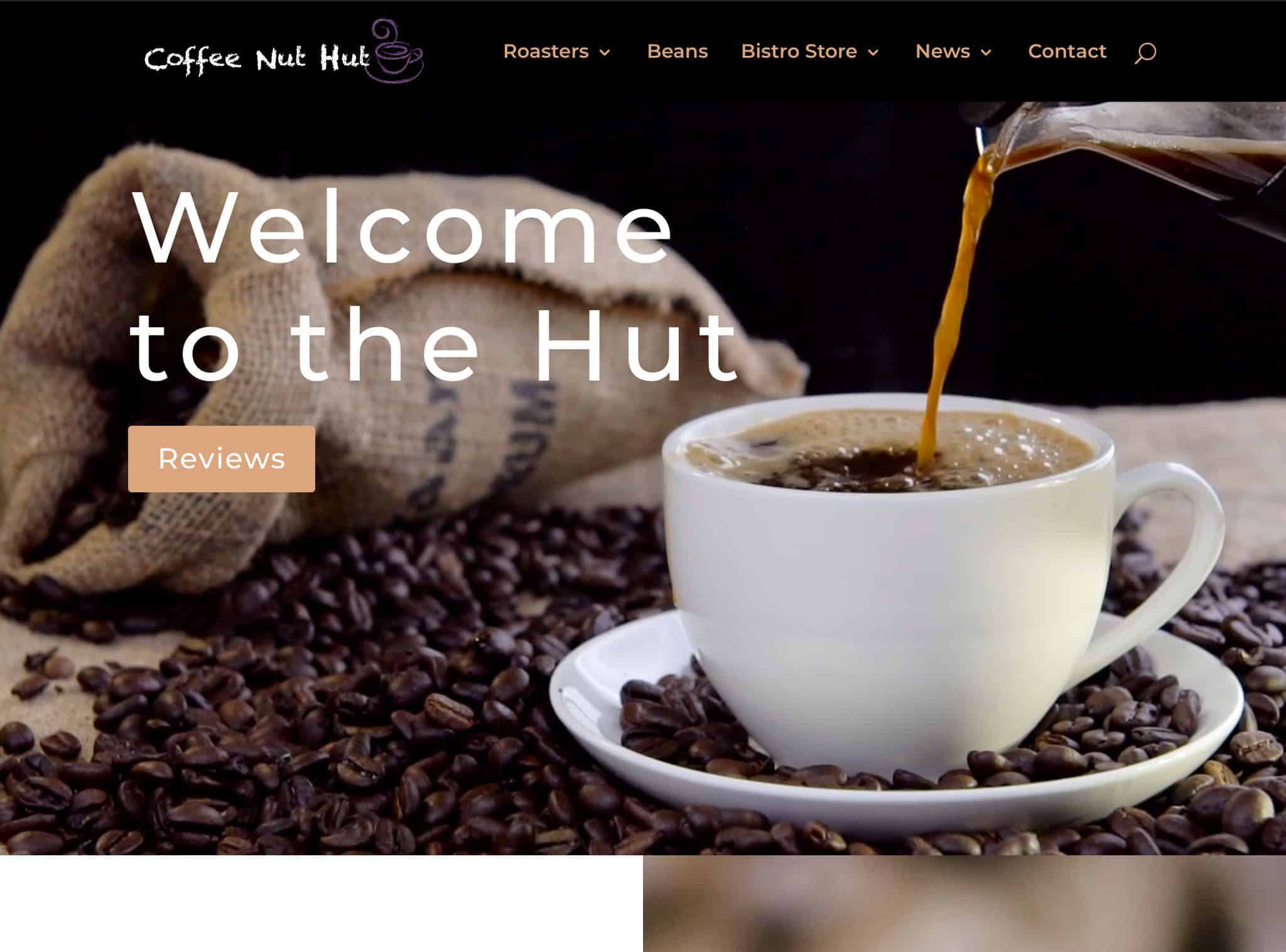 CoffeeNutHut.com Pro Website