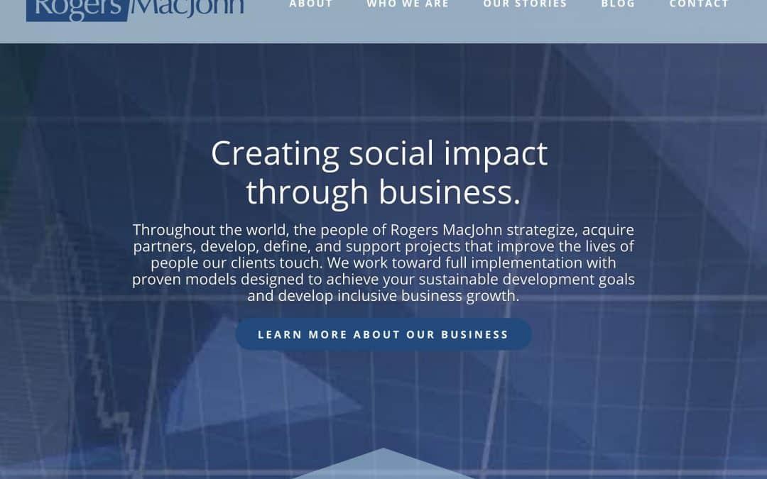 Rogers MacJohn Pro Website