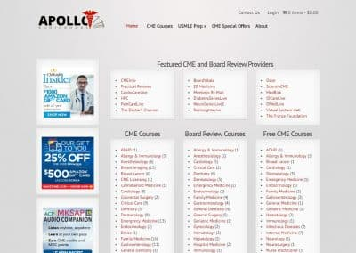 Apollo Audio Books eCommerce Site