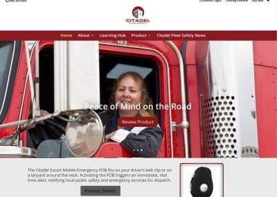 Citadel Pro eCommerce Website
