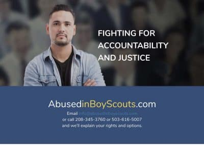 Abused in Boy Scouts Professional WordPress Site