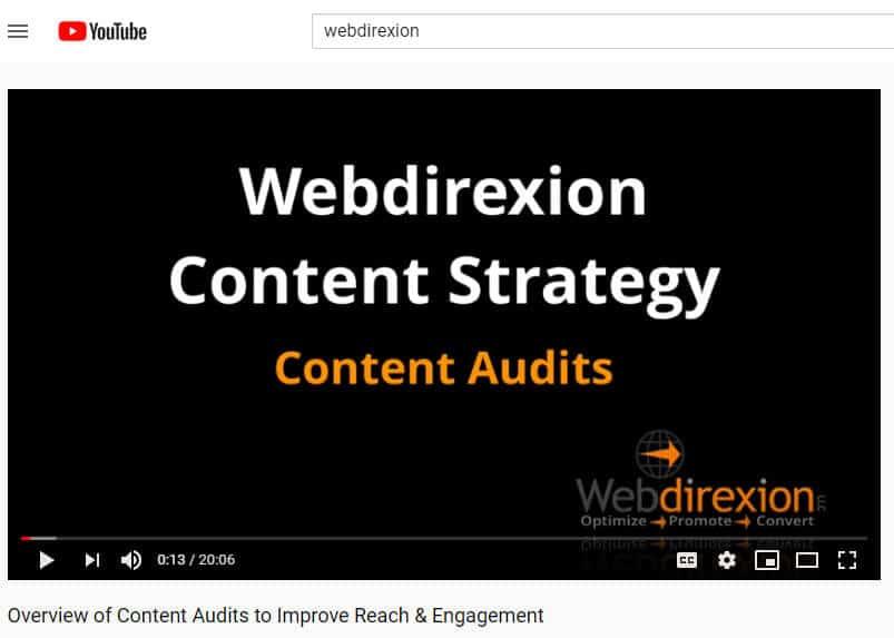 video marketing for online presence