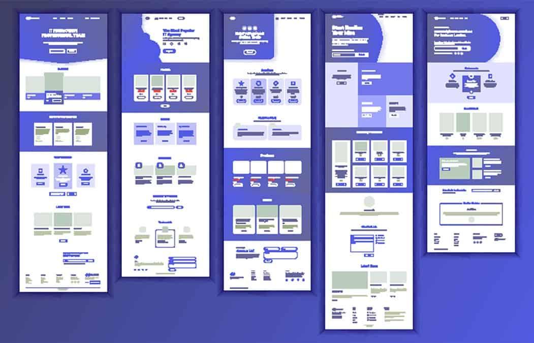 Webdirexion Landing Page Designs
