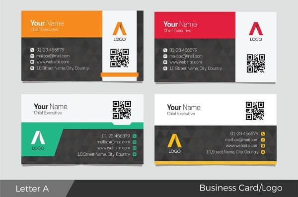 Webdirexion Logo & Business Card