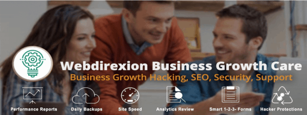 Webdirexion Business Growth and Care Plans